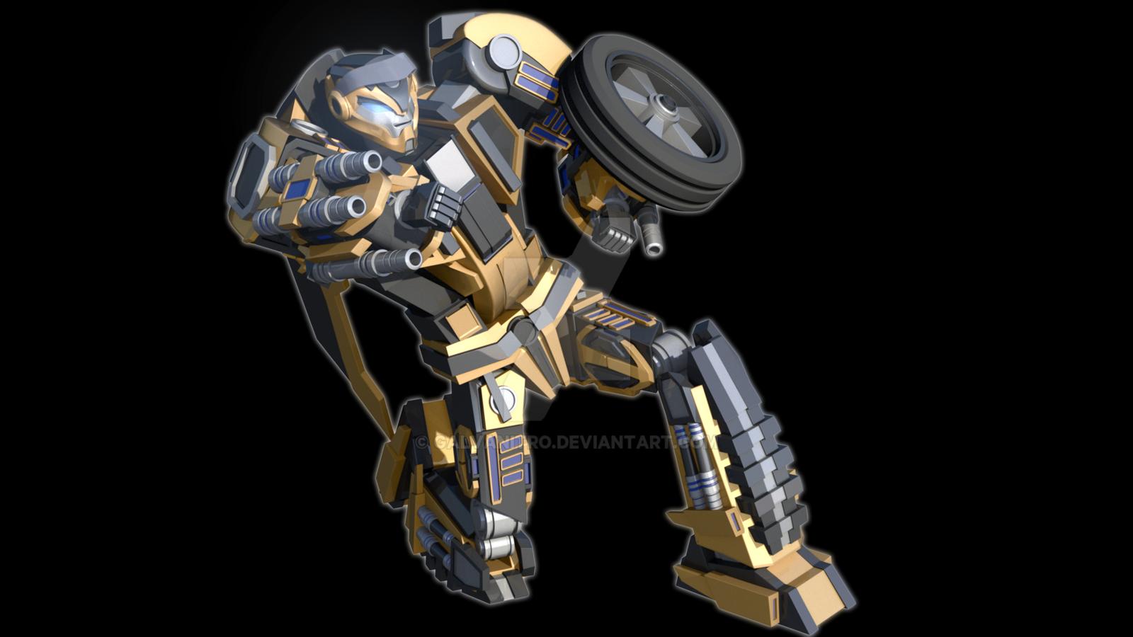 Destiny Bumblebee - Robot Mode #3 by Galvanitro on DeviantArt