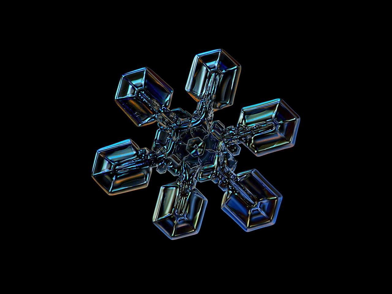 Snowflake photo: High voltage III