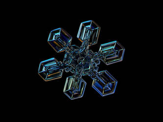 Snowflake photo: High voltage III