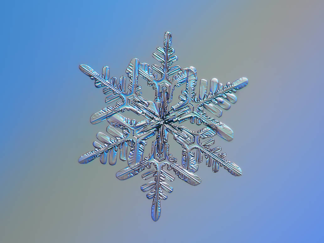 Snowflake n.1 13-Feb-2017 by ChaoticMind75