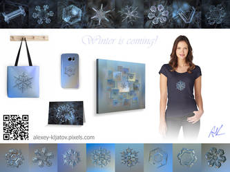 Snowflake prints available at artist website by ChaoticMind75