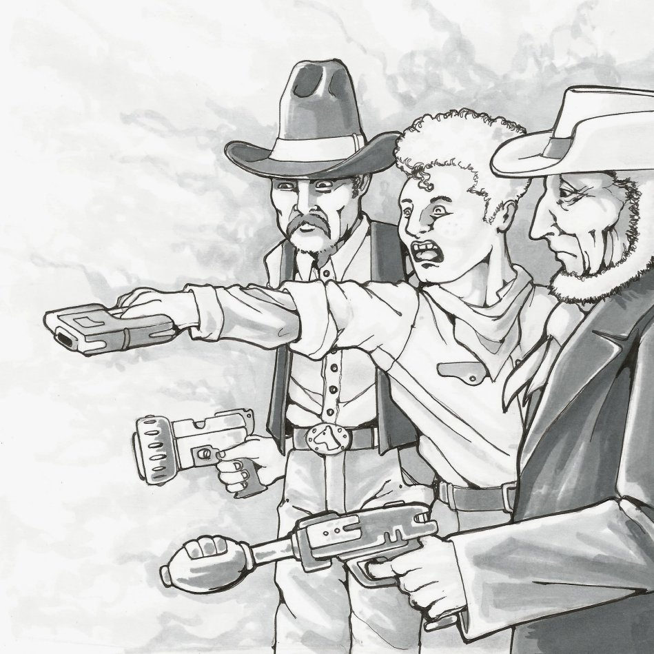 RPG Skill - Firearms by LaikatheSpaceDog