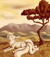 Old - Ninetails by recycled-batteries