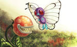 N.012 Butterfree by recycled-batteries