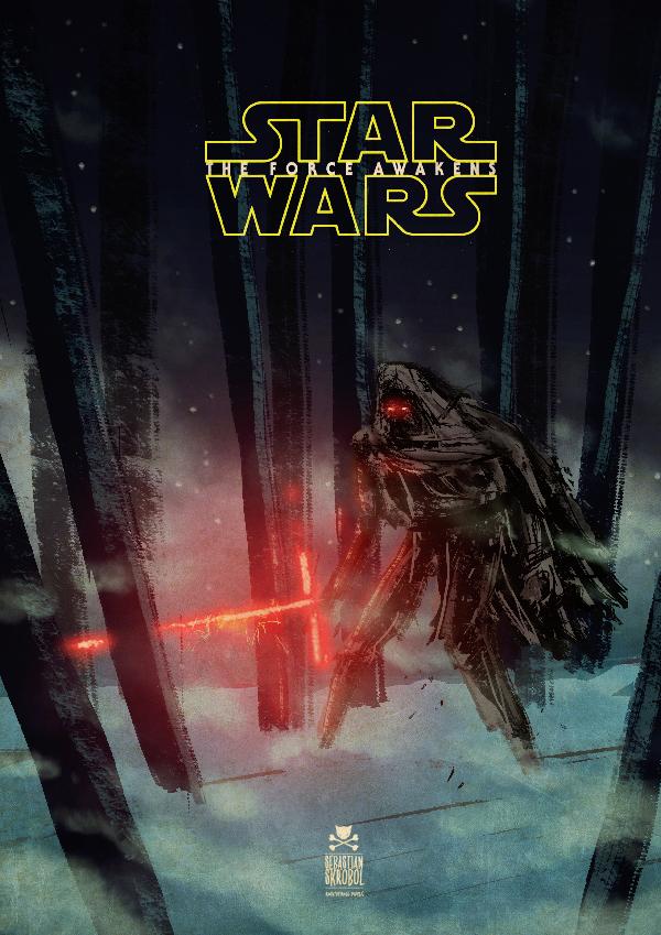 star wars force awakens by motsart