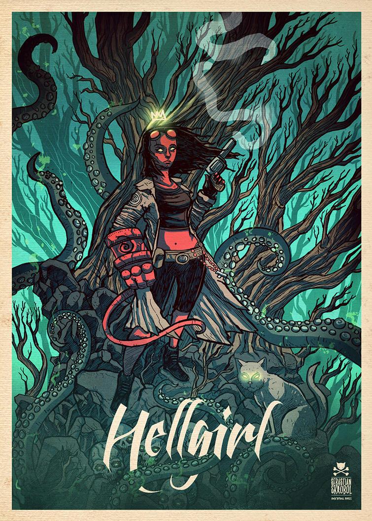 hellgirl by motsart