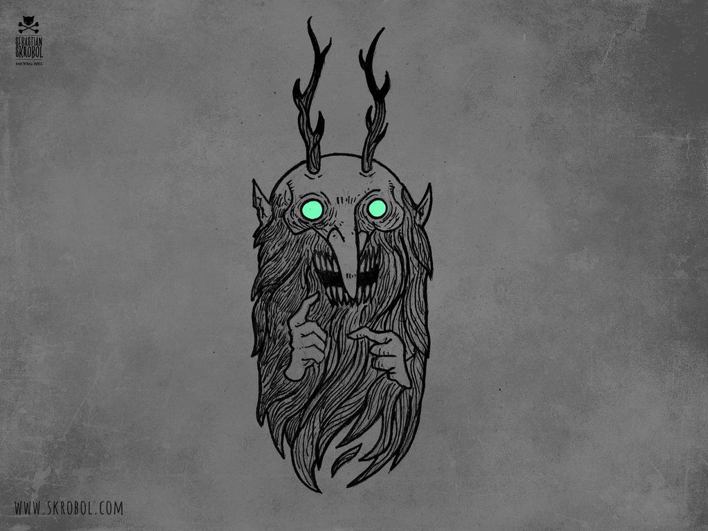 Forest troll by motsart