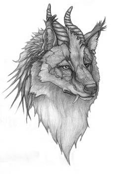 Dragon-wolf