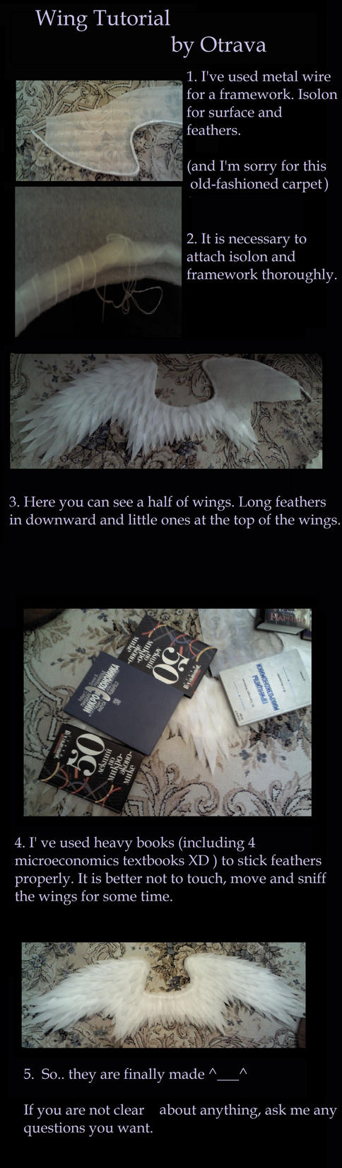 Wings tutorial by Otrava by OtravaSchneewittchen