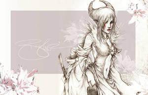 -- yin: lotus blossom -- by jadedice