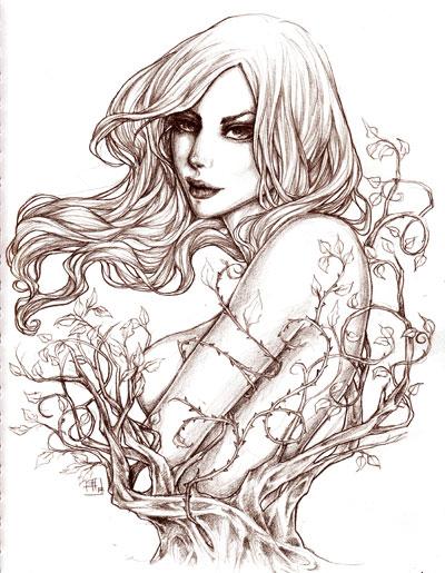 -- poison ivy -- by jadedice
