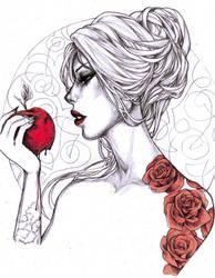 -- rose red2 -- by jadedice