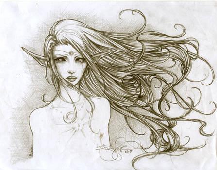 -- elf: windblown tears --