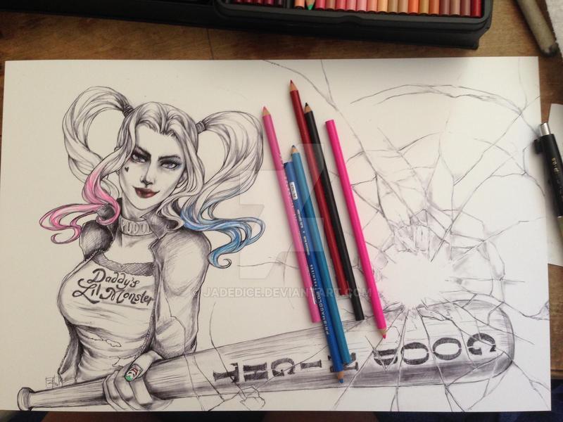 -- SS Harley Quinn -- by jadedice
