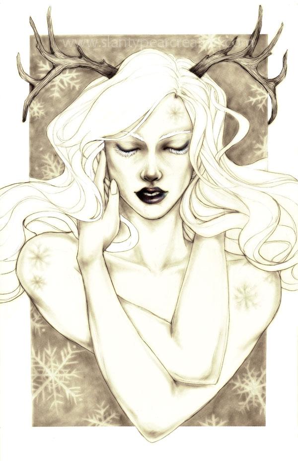 -- Snowflake -- by jadedice