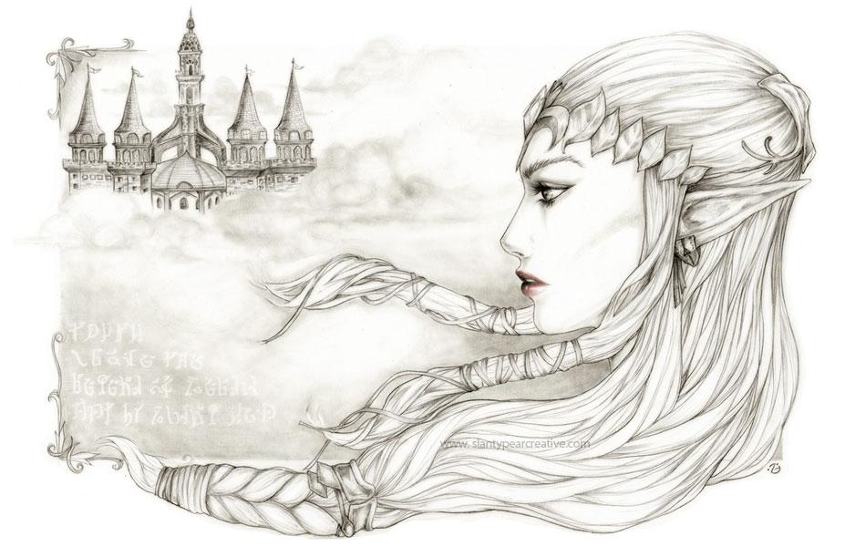 -- Zelda -- by jadedice