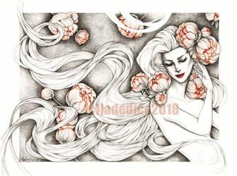 -- peonies -- by jadedice