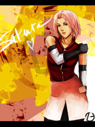 -- warm sakura -- by jadedice