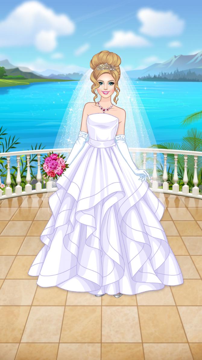 Deema\'s White Wedding Dress by NickJrFanEst2000 on DeviantArt