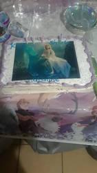 Frozen Ice Cream Cake