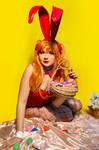 Happy Easter from Asuka Bunny