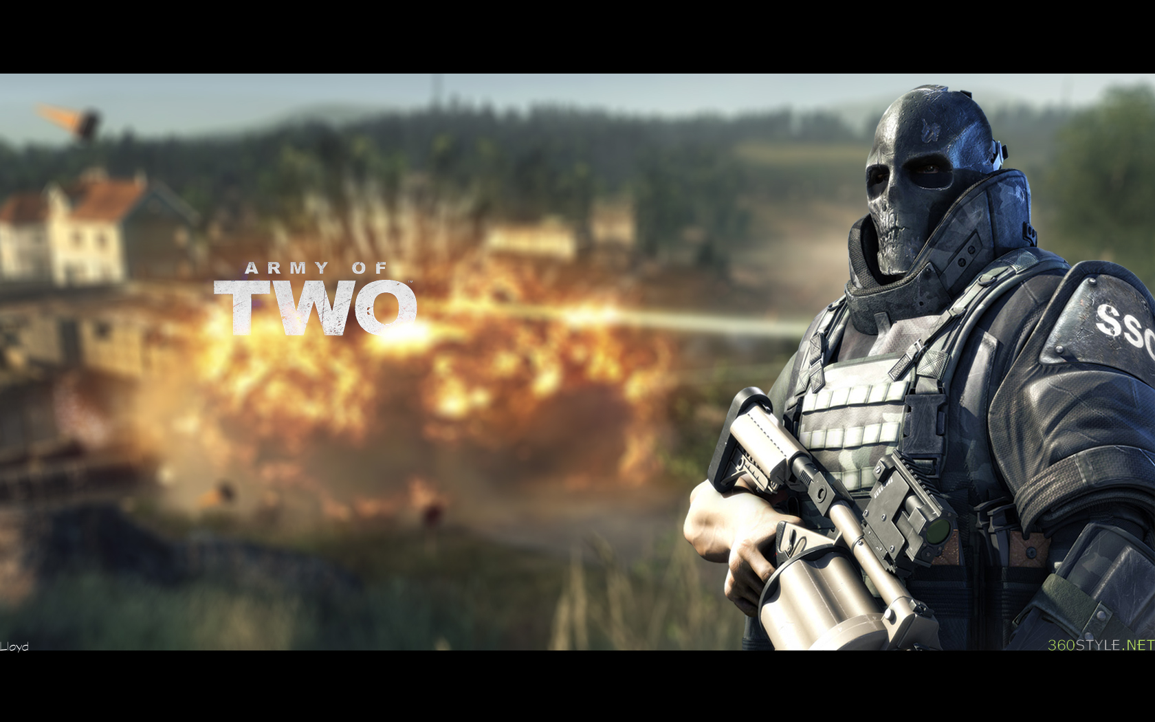 Army Of Two Wallpaper 4 By Igotgame1075 On DeviantArt