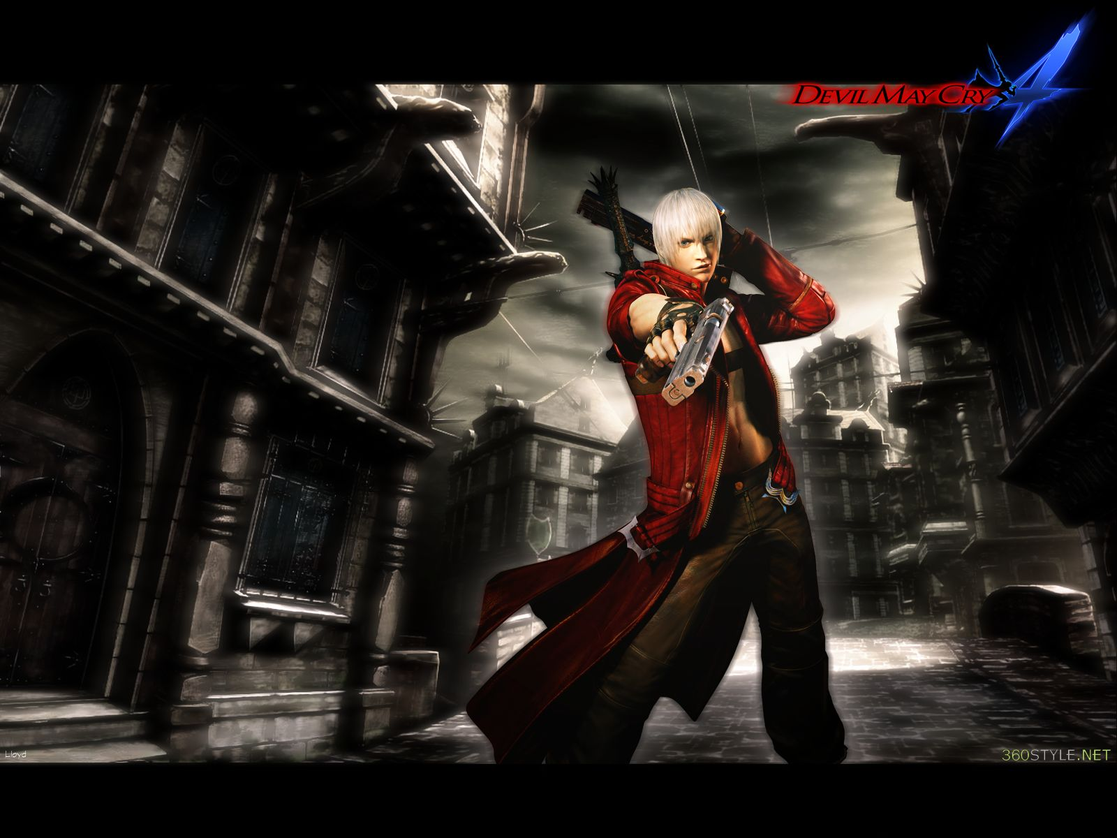 Devil May Cry 4 Wallpaper By Igotgame1075 On Deviantart