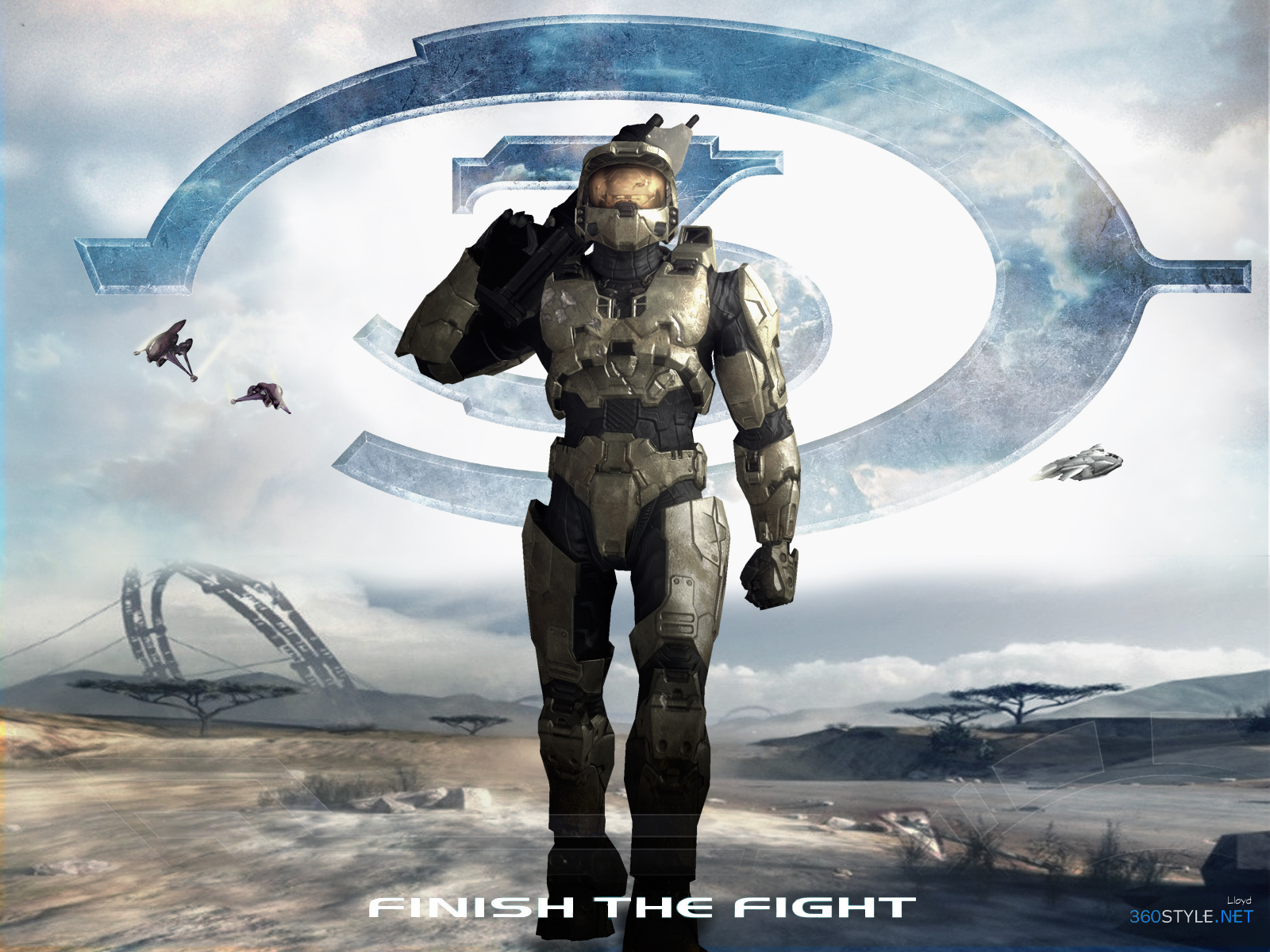halo 3 wallpaper 4igotgame1075 on deviantart