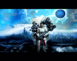 Mass Effect Wallpaper by igotgame1075