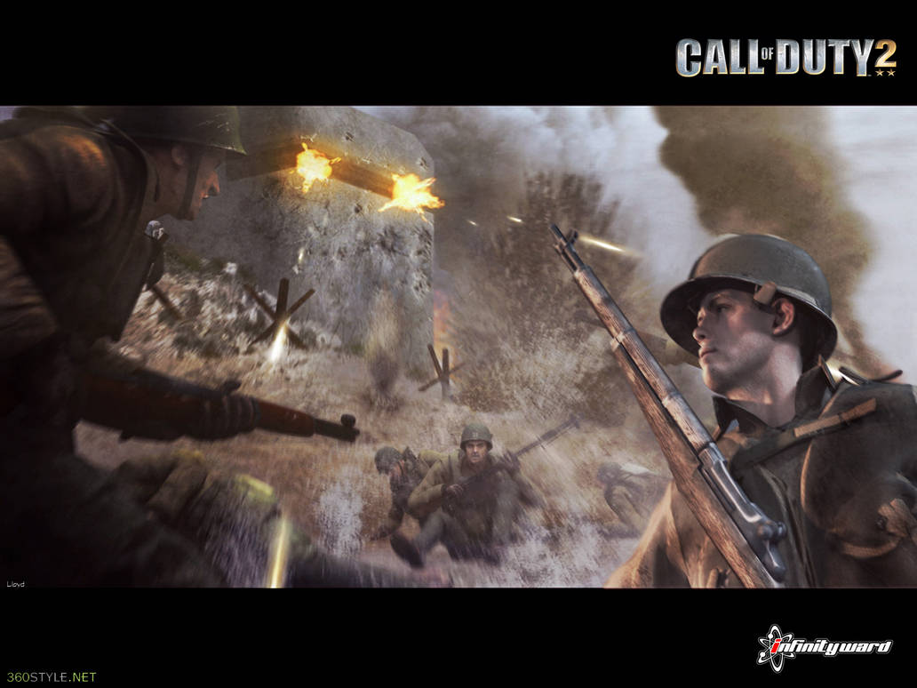 Call Of Duty 2 Wallpaper By Igotgame1075 On Deviantart