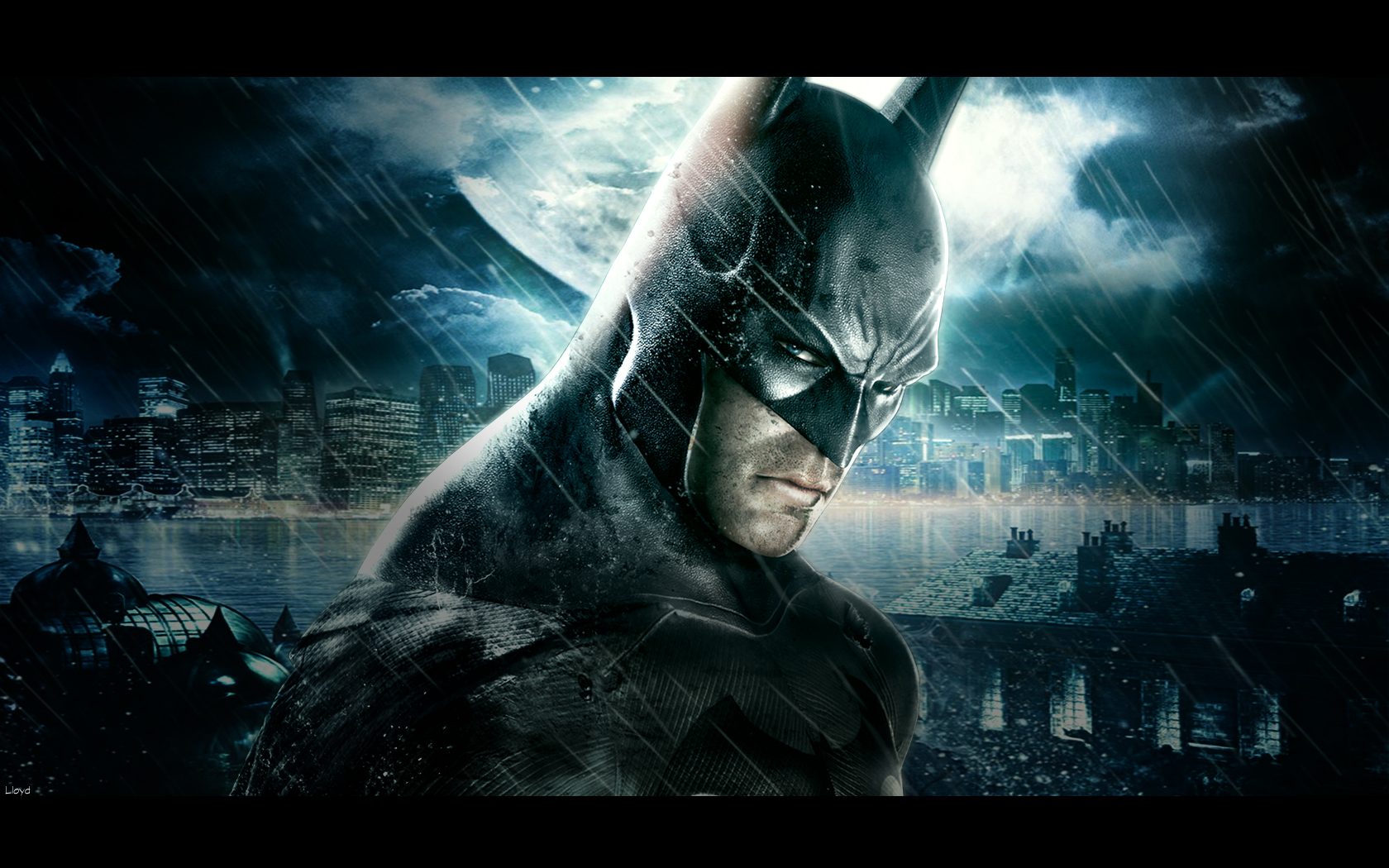 Batman:Arkham Asylum Wallpaper by igotgame1075