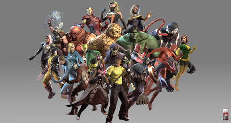 Marvel Ultimate Alliance 2 Wp4 by igotgame1075
