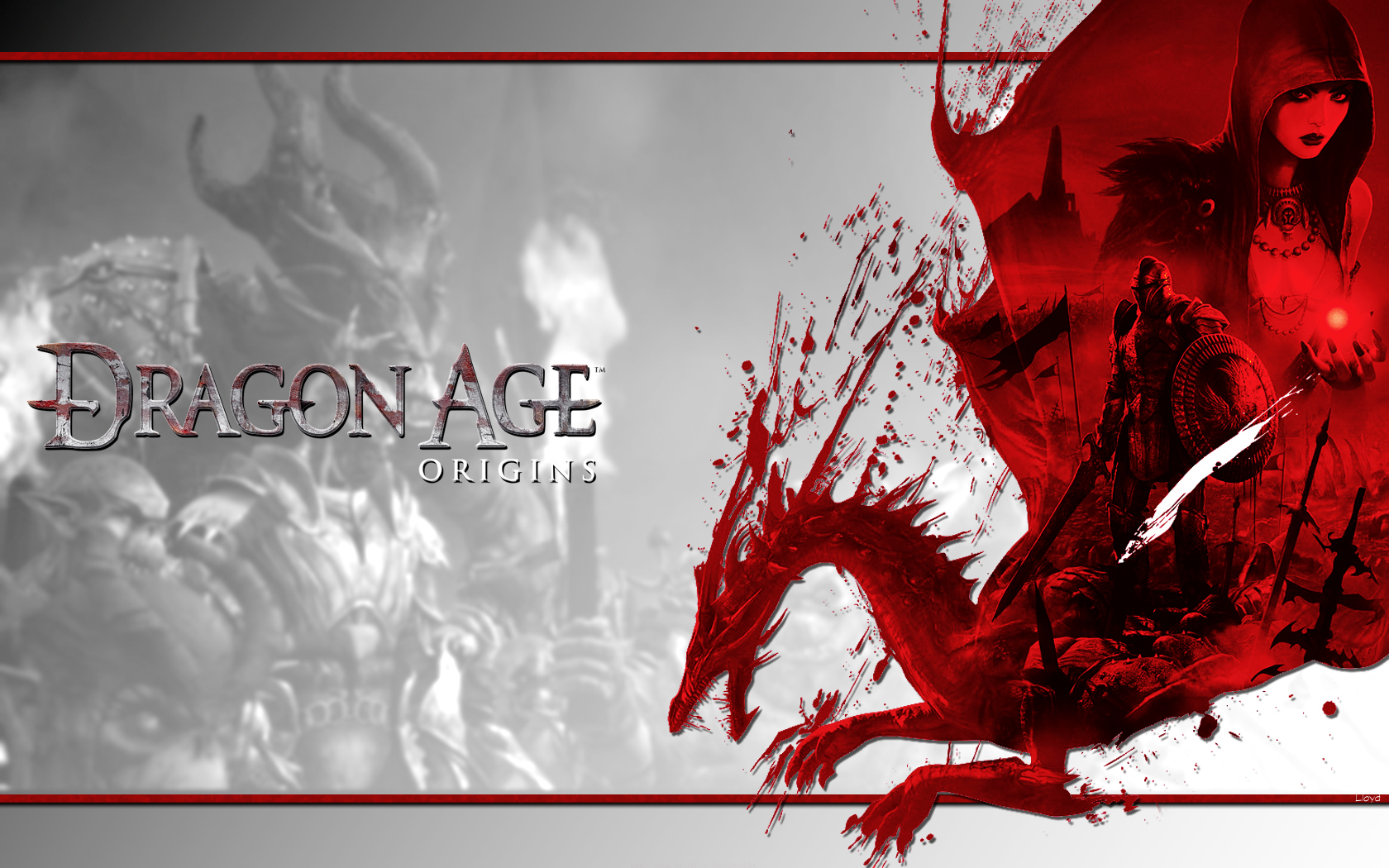 Dragon Age: Origins wp by igotgame1075