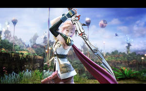 Final Fantasy XIII wp by igotgame1075