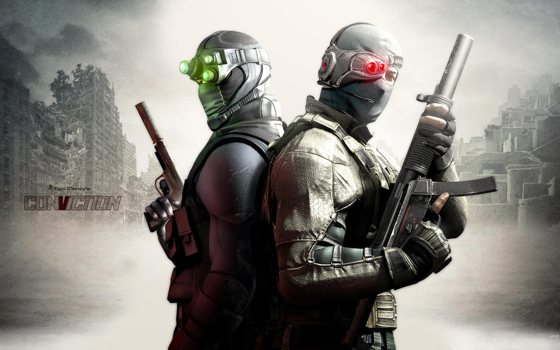 sam fisher conviction outfit