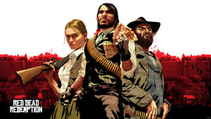 Red Dead Redemption Wallpaper by igotgame1075