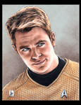 Chris Pine, James T. Kirk