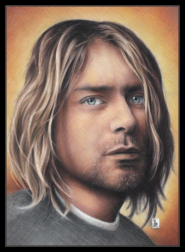 Kurt Cobain by louissollune