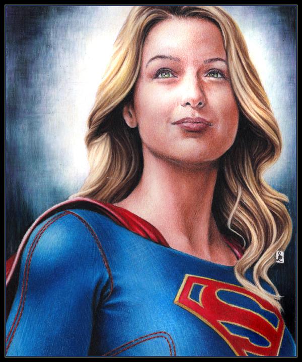 Melissa Benoist, Supergirl by louissollune