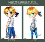 Adrien and Plagg