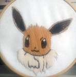 Eevee hand embroidery