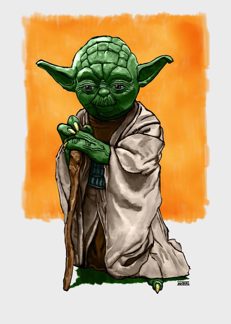 Master Yoda by LeeBaba