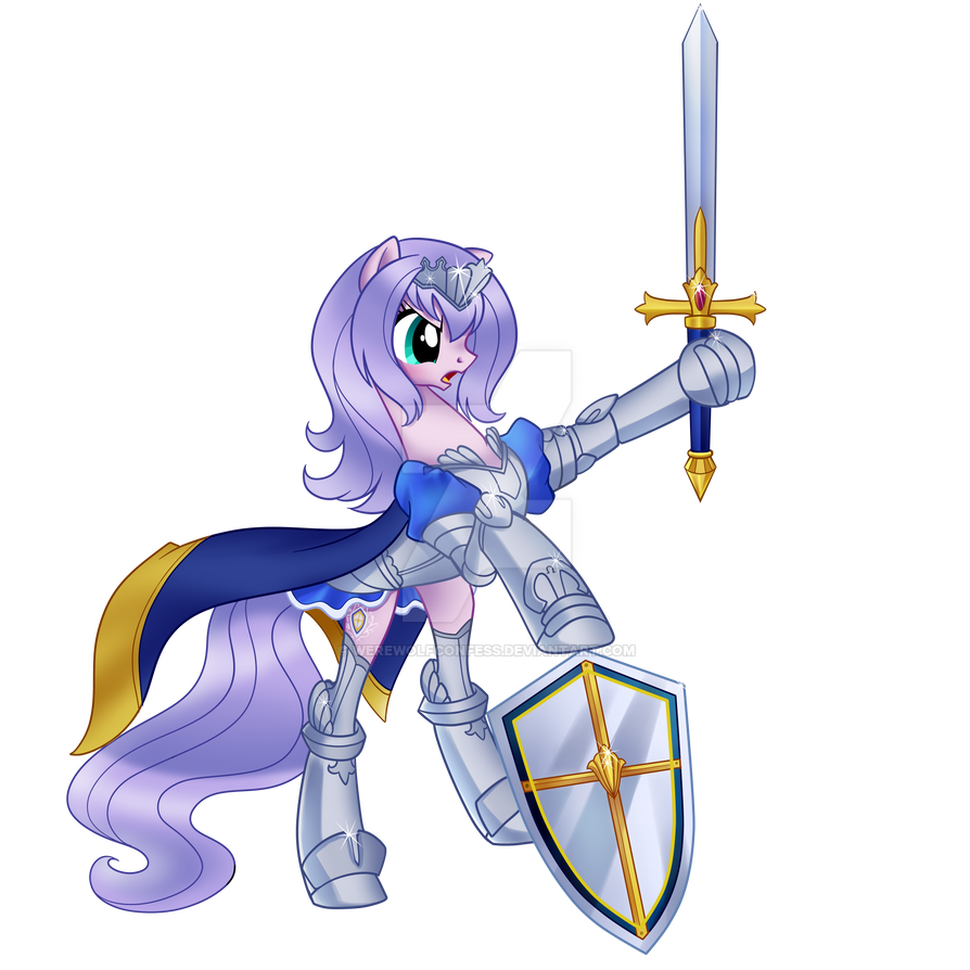 Queen's Blade Annelotte (pony Form) By Sakuyamon By