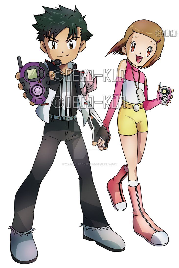 Hikari and Henry By Deco Kun by WerewolfConfess