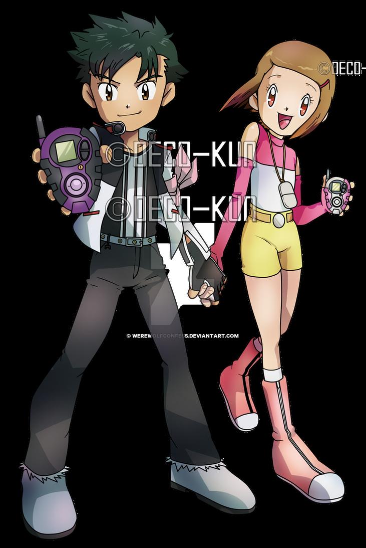 Hikari and Henry By Deco Kun by WerewolfConfess