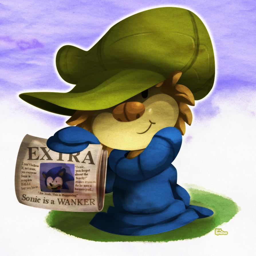 Random Sonic Chump: Rocket The Sloth by SynDuo