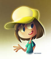 Late Night Doodle: Random Kid With A Hat by SynDuo
