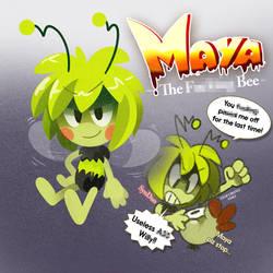 Maya the Frumpy Bee!