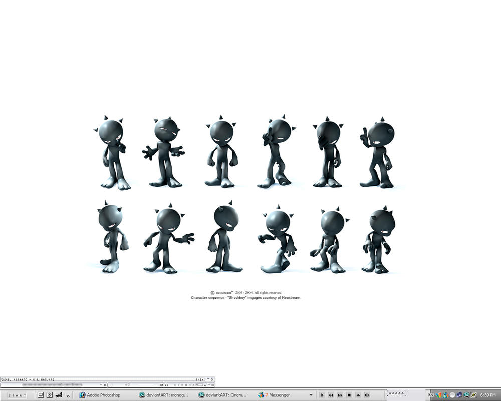 My desktop by skr33ch