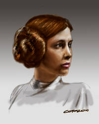 Princess Leia Organa by feedroh